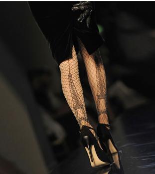 stocking design eiffel tower by jean paul gaultier